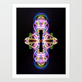 Light it up Art Print