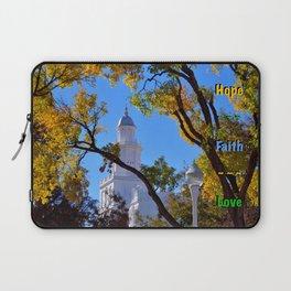 Hope ~ Faith ~ Love Laptop Sleeve
