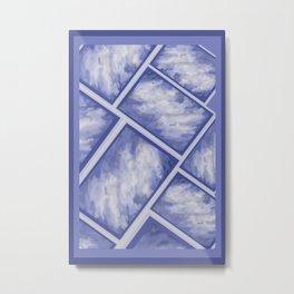 Cloudy DPA170113c Metal Print