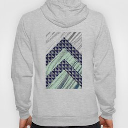Patterned Chevron Abstract Hoody