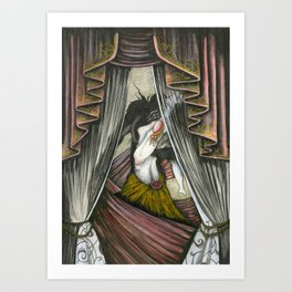 The Seduction of Helen Art Print