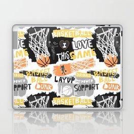 Basketball grunge Print Laptop & iPad Skin