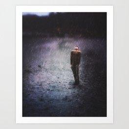 The Rain That Caress Me Art Print