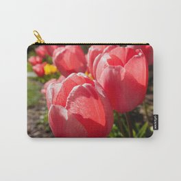 Pink Tulip Photography Print Carry-All Pouch
