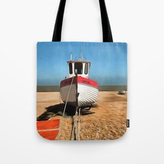 Dungeness Fishing Boat Tote Bag