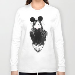 Yuri Kwon from Girls' Generation Long Sleeve T-shirt