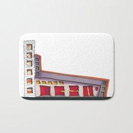 Geometric Architectural Design Illustration 99 Bath Mat