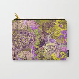 Garden Pansy Carry-All Pouch
