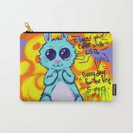 Evil Little Bunny Carry-All Pouch