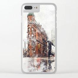 Toronto Flatiron Clear iPhone Case