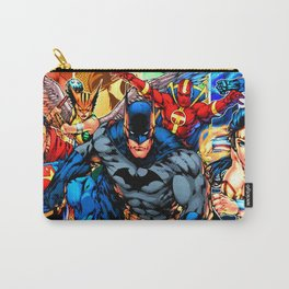 a collection of heroes Carry-All Pouch
