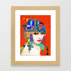 Nouveau Girl 2 Framed Art Print