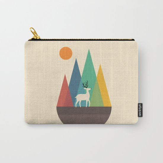 Step Of Autumn Carry-All Pouch
