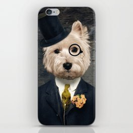 Sir Bunty iPhone Skin