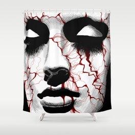 Broken Beauty Shower Curtain