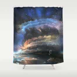 major event Shower Curtain