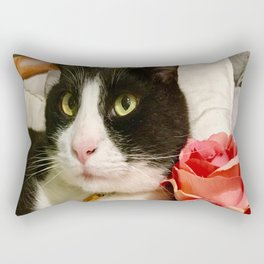 Orazio latin lover cat Rectangular Pillow