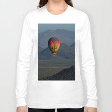 Hot Air Balloon over Arizona Morning Long Sleeve T-shirt