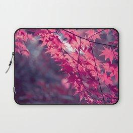 Autumn foliage in backlight Laptop Sleeve