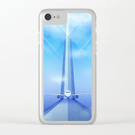 Destination: Dreamland Clear iPhone Case