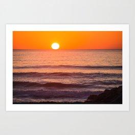 South Ponto Sunset 02 Art Print