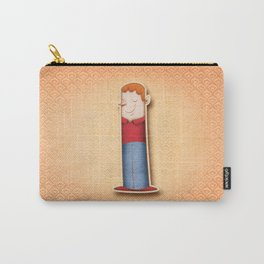 Illustrated I Carry-All Pouch