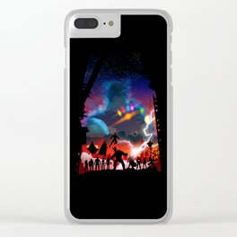 Avenger Clear iPhone Case