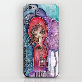 The Hermit - Tarot Inspired Watercolor iPhone Skin