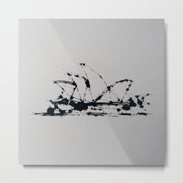 Splaaash Series - Sydney Ink Metal Print
