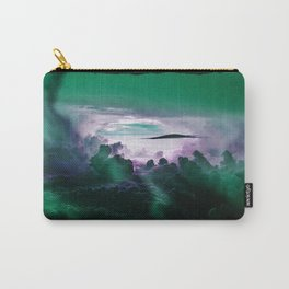 I Want To Believe - Aqua Carry-All Pouch