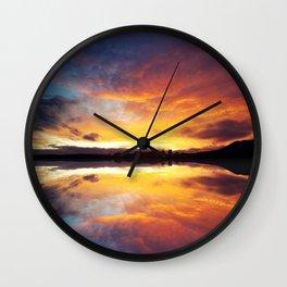 Skyfire Wall Clock
