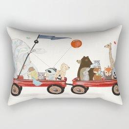 a little breeze Rectangular Pillow