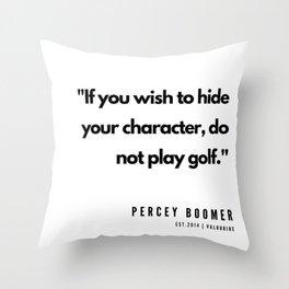 27   | Golf Quotes | 190606 Throw Pillow