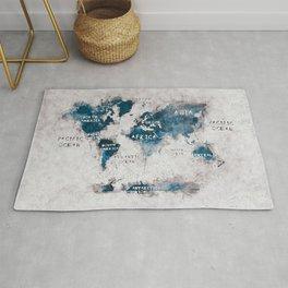 world map 13 #worldmap #map #world Rug