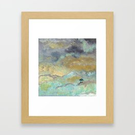 Silver Linings Framed Art Print