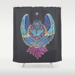 Eagle Totem Shower Curtain