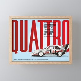 Quattro Tribute Framed Mini Art Print