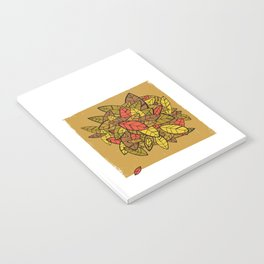 Autumn Memories (a pile of leaves) Notebook