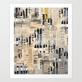 foregret Art Print
