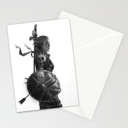 Warrior 6 Stationery Cards