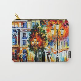 Tardis In The City Carry-All Pouch