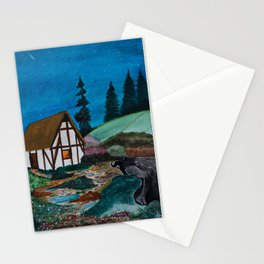 Unwelcome Visit Stationery Cards
