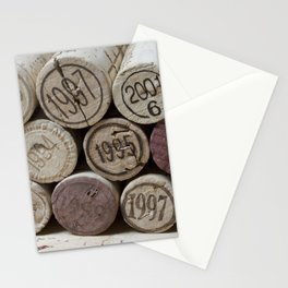 Vintage Wine Corks Stationery Cards