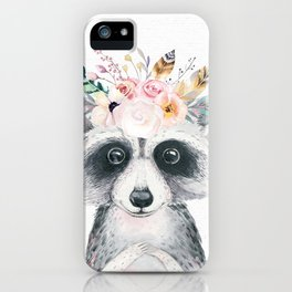 Forest Raccoon by Nature Magick iPhone Case