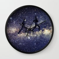 running Wall Clocks featuring Running by Cs025