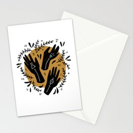 we three queens Stationery Cards
