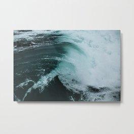 Surf Photography - Wave Metal Print