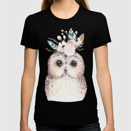 Forest Owl by Nature Magick T-shirt