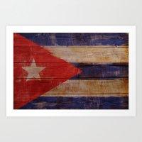 cuba Art Prints featuring Cuba  by Jordygraph