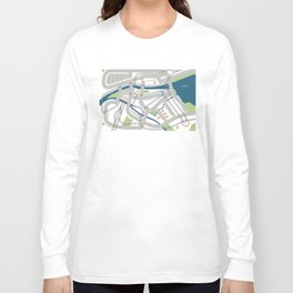 The Streets of Zurich Long Sleeve T-shirt